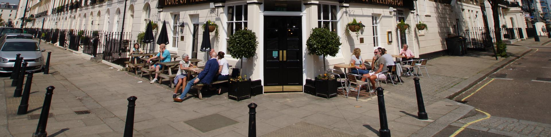 Duke of Wellington, Belgravia London - Exterior
